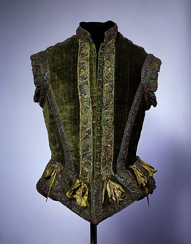 Doublet from 1580, located in Metropolitan Museum of Art, New York