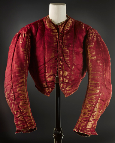 Doublet probably of Italian origin (1550 - 60). National Museum of Scotland, Edinburg.