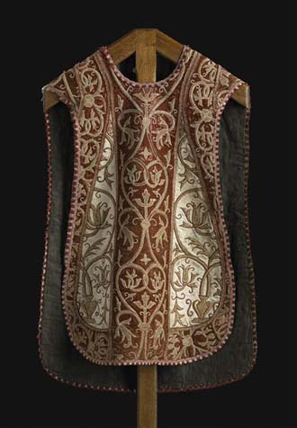 Chasuble Italian provenance, Ecouen, Musée national de la Renaissance, 16th century