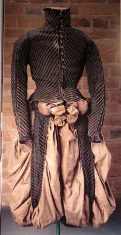 Clothing of Erik Stures murdered in 1567 is now located in Uppsala, Sweden