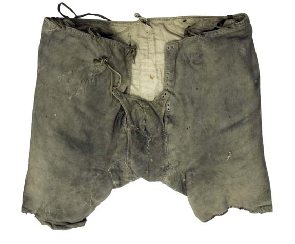 Underpants of Svante Stures murdered in 1567 are now located in Uppsala, Sweden