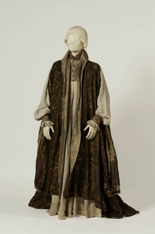 Clothing of Louis II crafted for the wedding with Mary of Habsburg (1520) in Hungarian national museum, Budapest