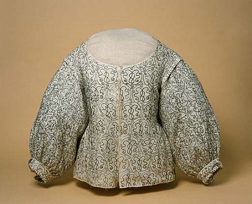 Bodice, 1620-40, Manchester Art Galeries