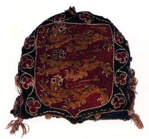 Seal bag from the era of Edward I (1280), Museum of London
