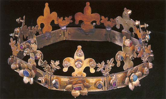 Crown belonged probably to Margaret (13th century), Hungarian National Museum, Budapest